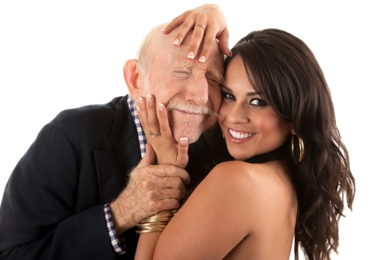 old-man-and-young-woman